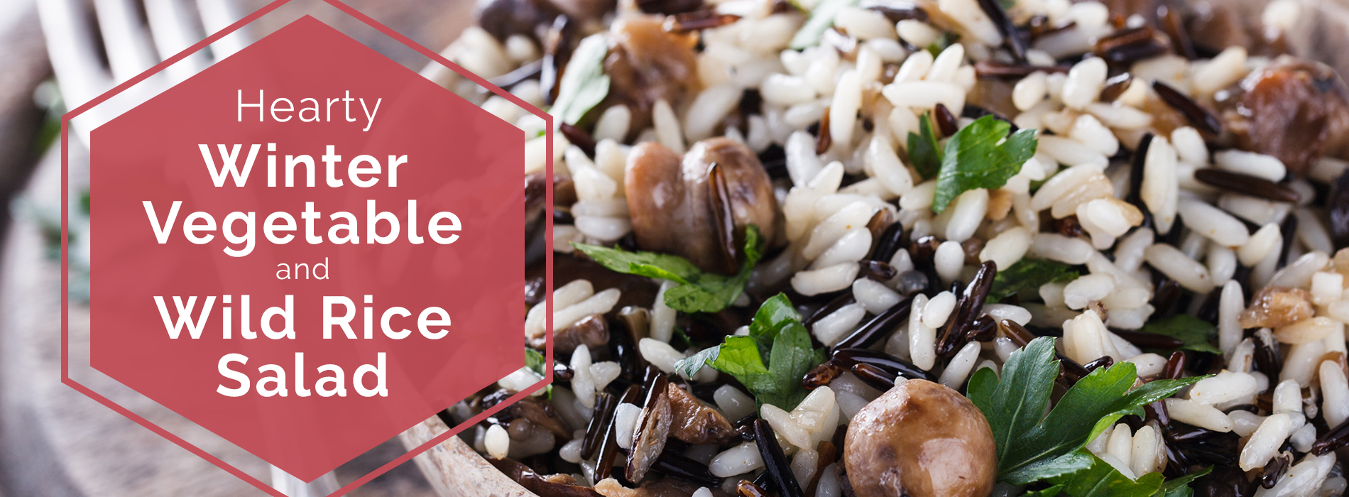 Hearty Winter Vegetable and Wild Rice Salad