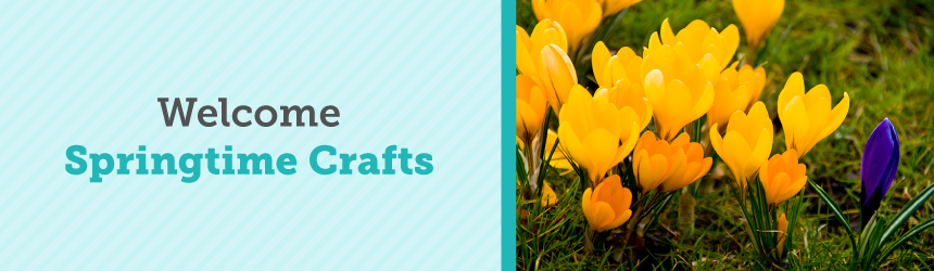 Welcome Springtime Crafts Aa To Zz