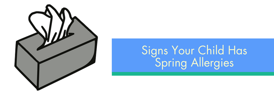 Signs Your Child Has Spring Allergies